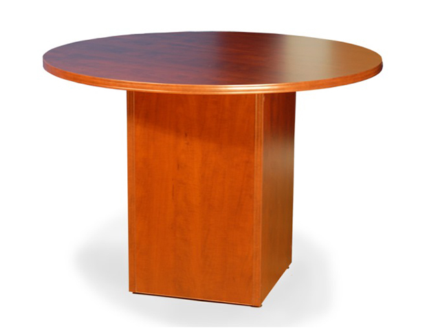 CONFERENCE TABLE ROUND SHAPE CUBEBASE PvP Office Furniture - Conference table pedestal base